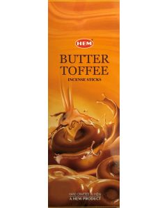 Hem Butter Toffee Hexa Incense