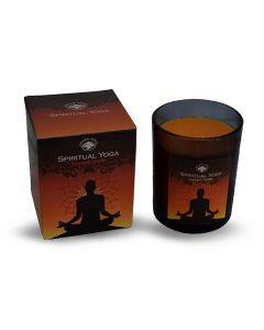 Green Tree Spiritual Yoga Scented Candle 210 Grams
