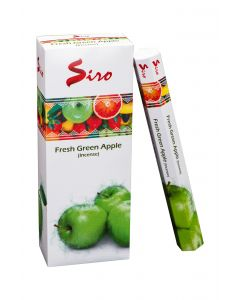 SIRO Fresh Green Apple hexa incense stk