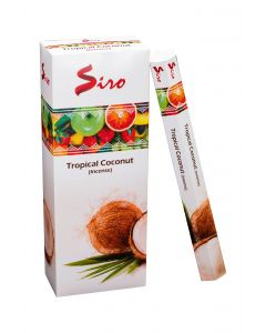SIRO Tropical Coconut hexa incense stk
