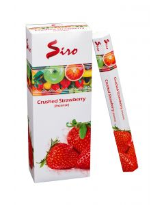 SIRO Crushed Strawberry hexa incense stk