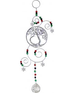 WIRE HANGING CRYSTAL TREE OF LIFE