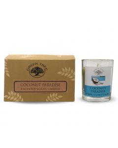 Green Tree Votives 55 gram Coconut Paradise