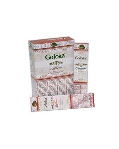 Goloka Saffron Wierook 15 gram