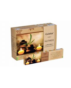 Goloka Aromatherapy Nutmeg 15gr