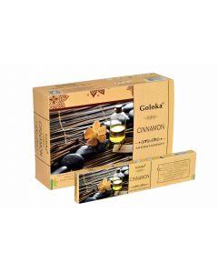Goloka Aromatherapy Cinnamon Incense 15 grams