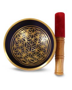 Brass Bowl Flower of Life