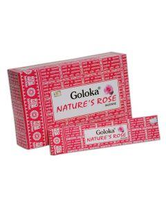 Goloka Nature's Incienso Rosa 15 gramos