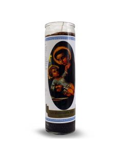 Labelled Candle Saint Anthony