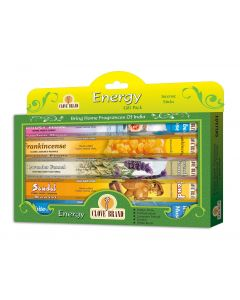 Clove brand incense gift pack Energy 5 assorted hexa