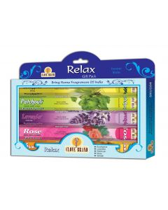 Clove brand incense giftpack Relax 5 assorted hexa