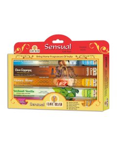 Clove brand incense giftpack Sensual 5 assorted hexa
