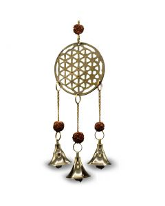 Brass Bells Flower of Life
