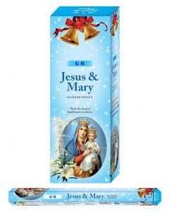GR Jesus & Mary Hexa Incense Stick