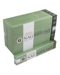 Golden Nag White Sage 15gr