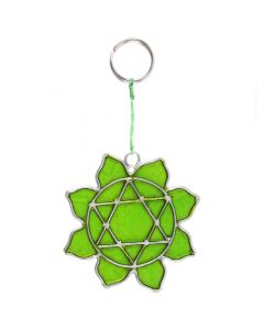 Hart Chakra Mini Symbool Suncatcher