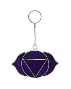 Atrapa Luz  con mini símbolo del chakra del tercer ojo