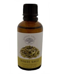 Green Tree White Sage Massage Oil 50 ml
