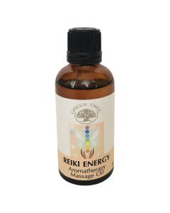 Green Tree Reiki Energy Massage Oil 50 ml