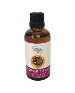 Green Tree Flower Of Life Massage Oil 50 ml