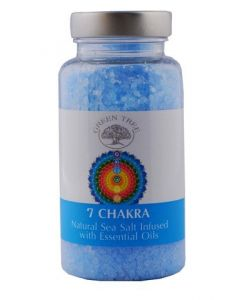 Green Tree 7 Chakra Sea Salt for Aromaburners