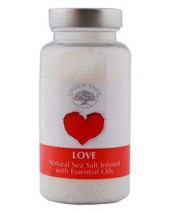 Green Tree Love Sea Salt For Aromaburners