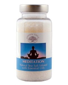 Green Tree Meditation Sea Salt For Aromaburners