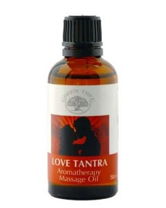 Green Tree Love Tantra Massage Oil 50 ml
