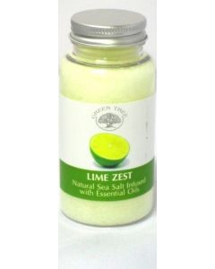 Green Tree Lime Zest Sea Salt For Aromaburners
