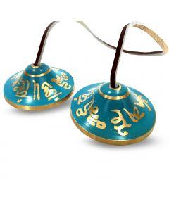 Ting-Sa Bell Throat Chakra -Blue
