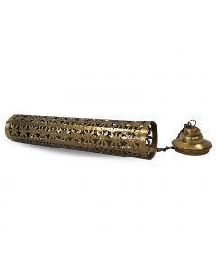 Iron tower incense holder brass