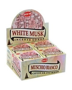 Hem White Musk Cones