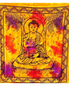 Multicolor Budha Tapestry