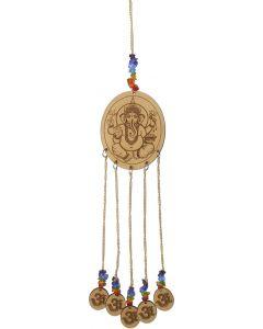 Houten Hanger met Laser Gegraveerd Ganesha