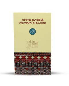 Green Tree Native Soul White Sage and Dragon's Blood Wierook 15 gram