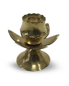 Brass Lotus Incense Holder