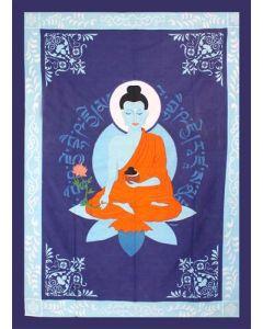 "Katoenen Kleed Medicijn Boeddha 52 X 76"""