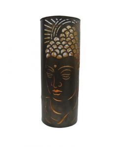 Metal Floor Candle Holder Buddha Big  60cms dia. 23cms