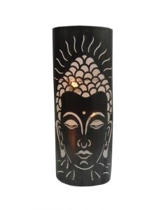 Metal Wall Décor Buddha Candle Holder 60 cms