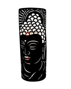 Metal Wall Décor Buddha Candle Holder ) 59,5 cm