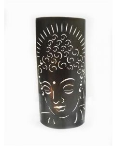 Metal Wall Décor Buddha Candle Holder  49,5 cm
