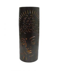 Metal Candle Holder Buddha 50 cm dia 20cms