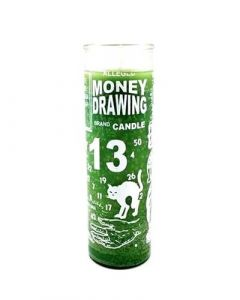 Screened candle  Money Drawing