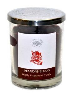 Green Tree Dragon's Blood Candle 200 Grams