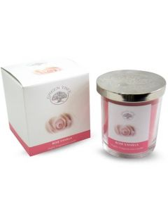 Green Tree Rose Vanilla Candle 200 Grams