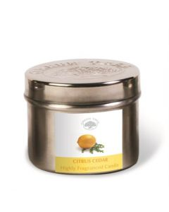 Green Tree Citrus Cedar Candle 150 Grams