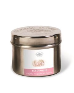 Green Tree Scented Candle Rose Vanilla 150 Grams
