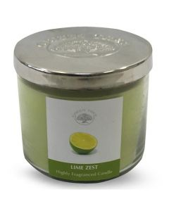 Green Tree Lime Zest Highly Fragranced Candle 400 Grams
