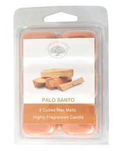 Green Tree Palo Santo  Wax Melts 80 grams (6 pieces)