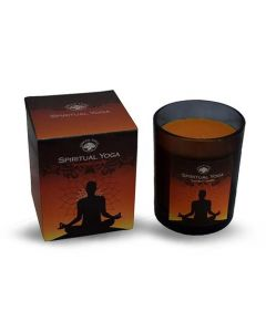 Green Tree Spiritual Yoga Scented Candle 210 Grams